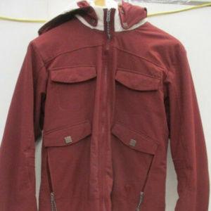 Jacket Coat Winter Hooded Sherpa Trapper Fleece